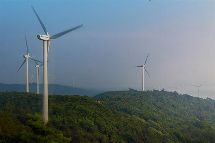 Moog new AC wind turbine pitch system is being used in Envision Energy's 4MW offshore wind turbine