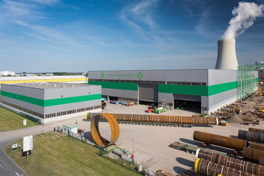 Formosa 1's monopiles will be produced at EEW's Rostock plant in Germany
