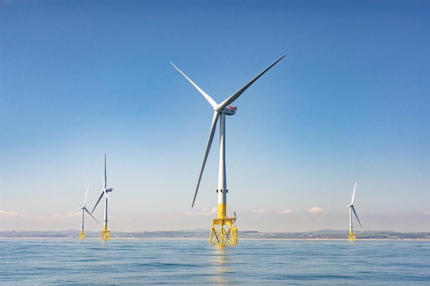 The EOWDC is intended as a demonstration of next-generation technology in the offshore wind industry (pic: Vattenfall)