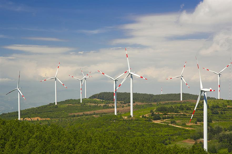 Confidence in the onshore wind sector is growing – except in Germany (pic: ERG)
