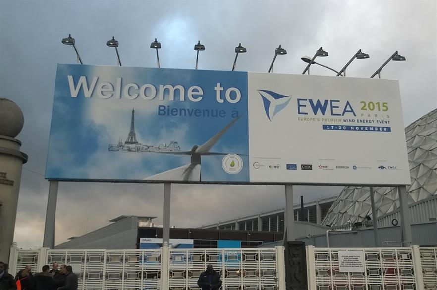 EWEA 2015 is taking place in Paris 17-20 November