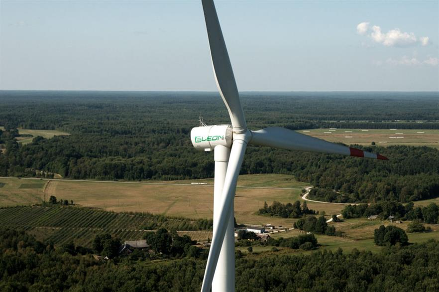 Eleon's 3MW prototype turbine on Saaremaa, west Estonia