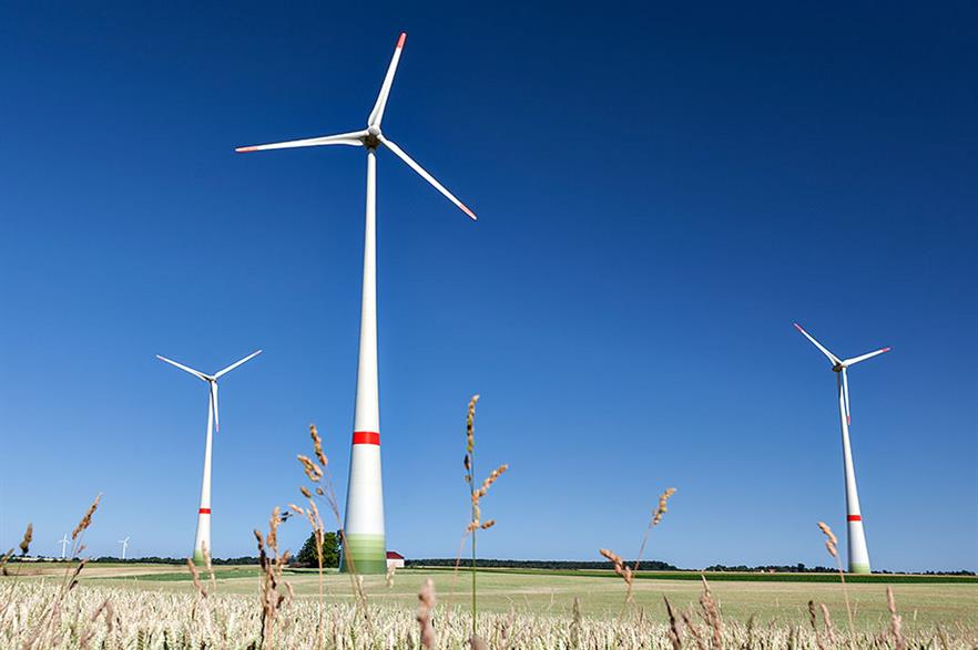 Enercon's home market of Germany has collapsed (pic credit: EnBW/Weltenangler)