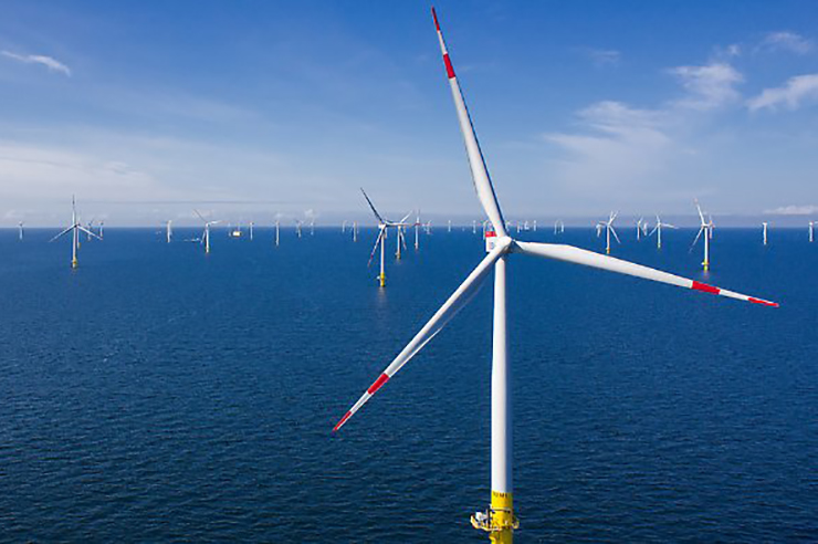 EnBW's Baltic 2 offshore project was officially commissioned this week
