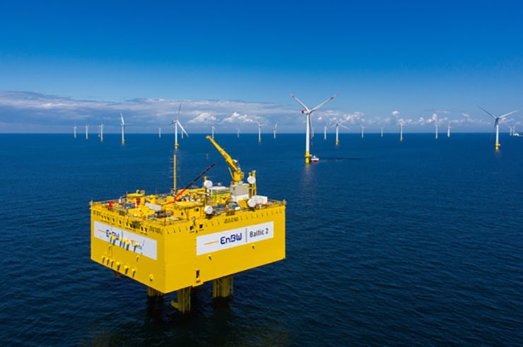 EnBW has also developed the Baltic 1 and 2 offshore projects in Germany