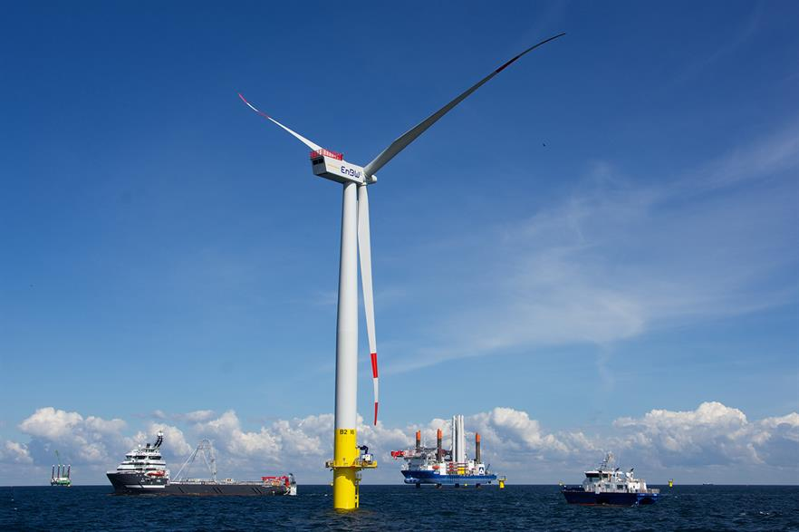 EnBW has installed 336MW of offshore wind, with 610MW under construction and a 900MW pipeline