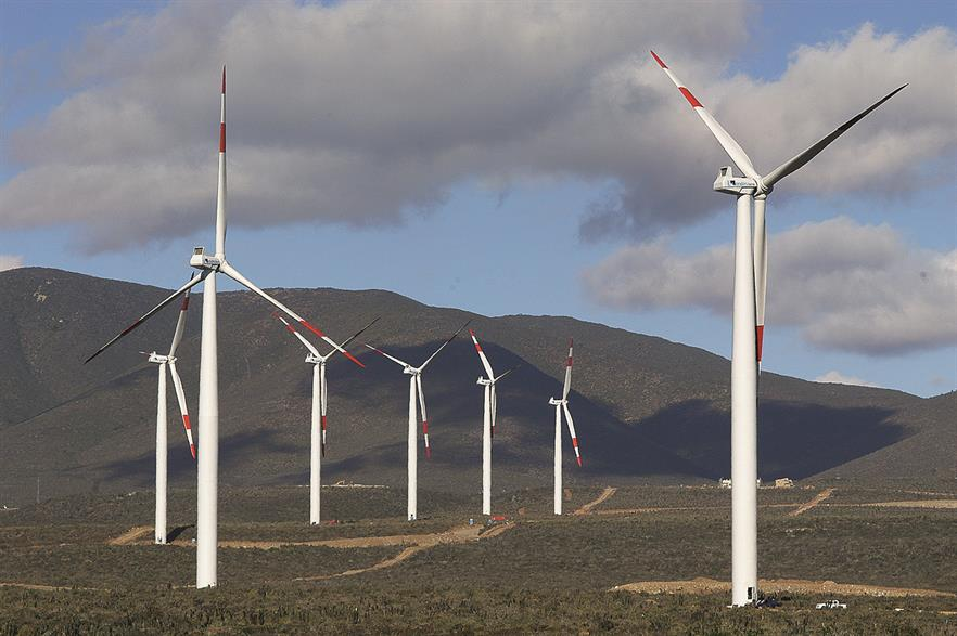 Chile has 915MW operating wind projects, including the 80MW Canela II site