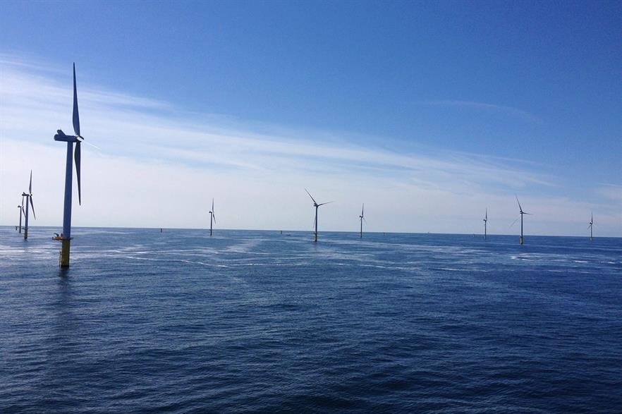 The Dutch auction has driven offshore prices to a new low (pic: Eneco Luchterduinen)