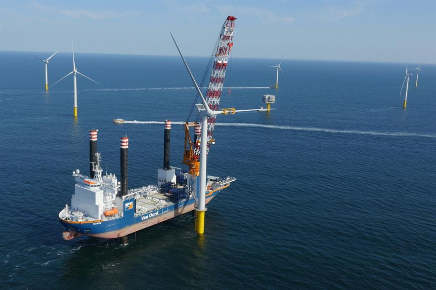 Belgium's offshore wind capacity currently stands at 871MW but is set to almost treble in the next decade