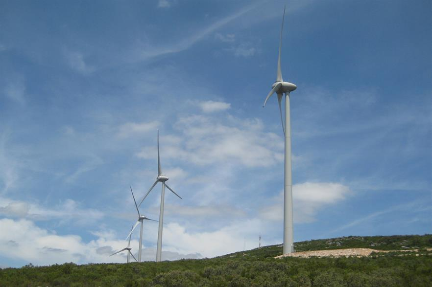 Portuguese wind capacity provided 42% of March's total mixed-renewable generation (pic: Enel)