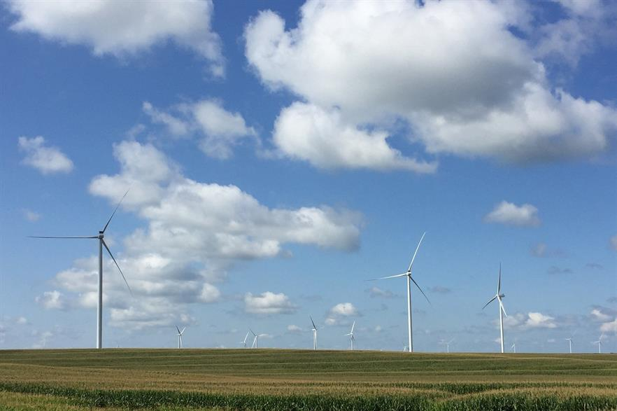 Great Plains Energy also buys power from the Rock Creek wind project in Missouri