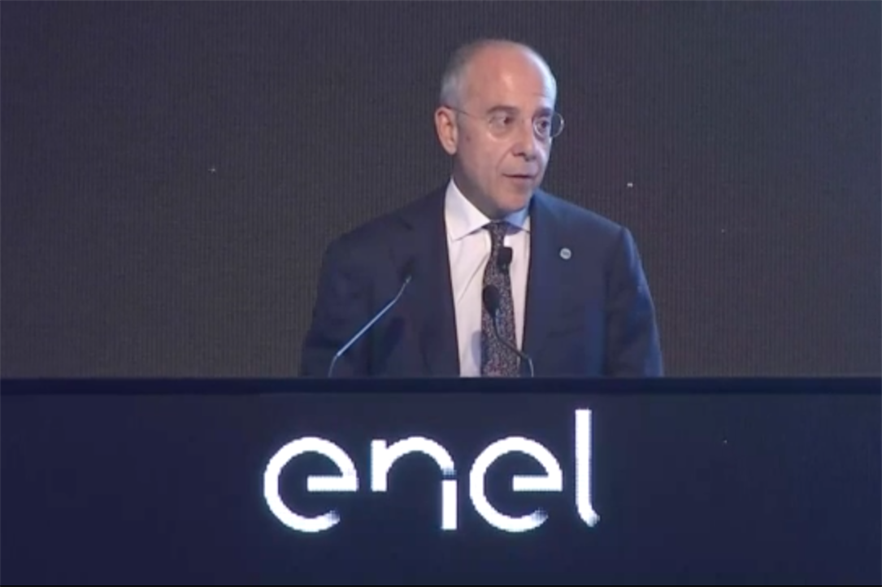 Enel CEO Francesco Starace outlines heavy renewables push at the company's Capital Markets Day
