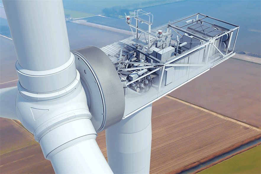 """Moving the electrical systems into the nacelle means turbines can be """"plug and play-enabled"""""""