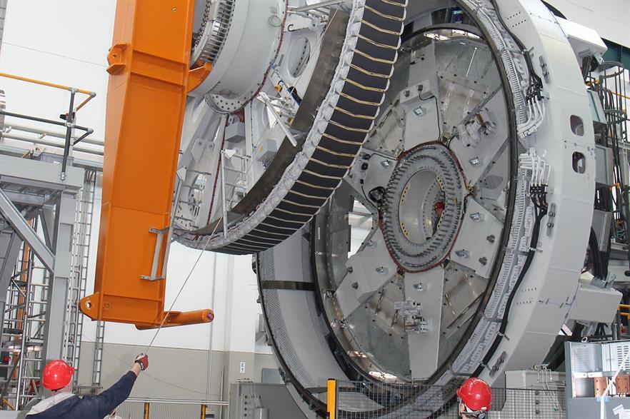 Enercon begins trials on its EP3 generator