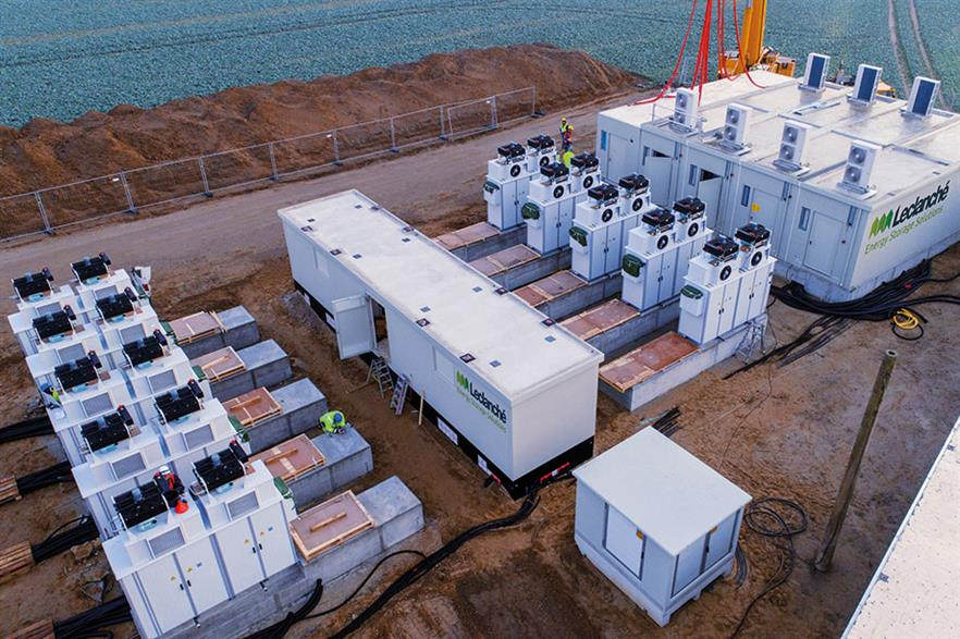 Out of the box… Energy storage is a growing market, but more visibility is needed on revenue streams (pic: Leclanché)