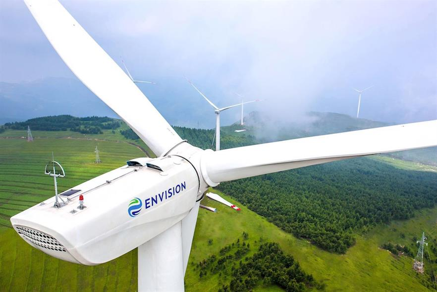 Envision revealed details of three new onshore turbines at WindEurope's conference in Amsterdam