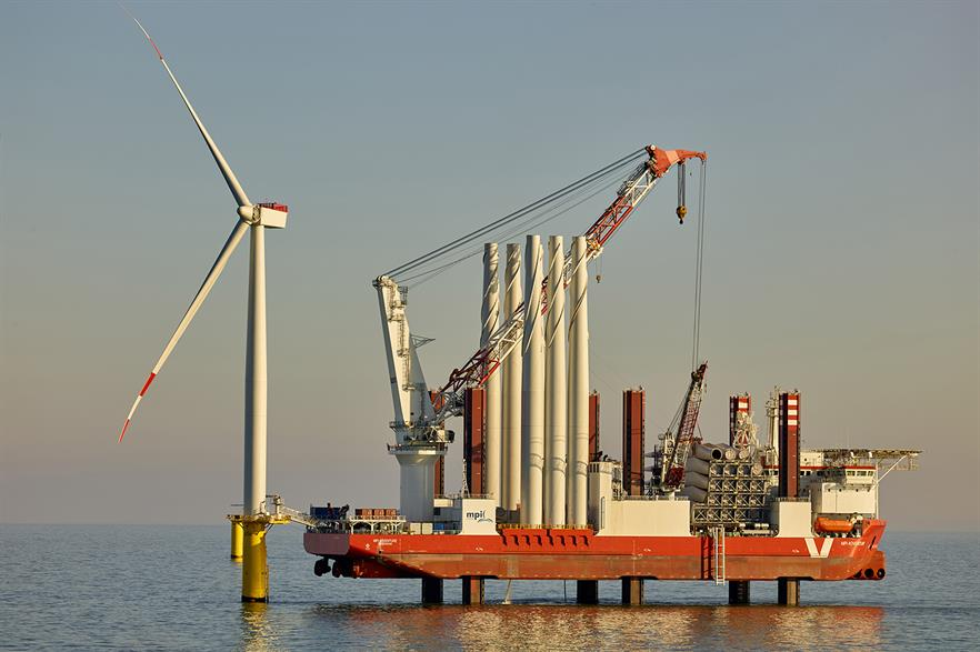 E.on completed its 288MW Amrumbank West offshore project in Germany in 2015