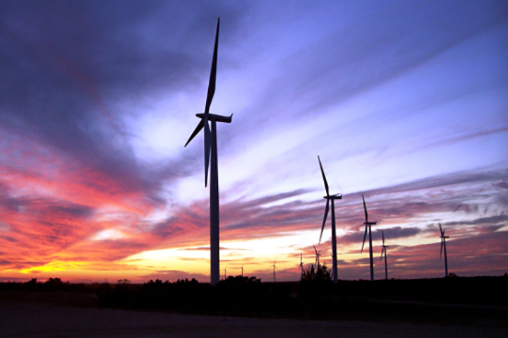 E.on's 126.5MW Champion wind project in Texas