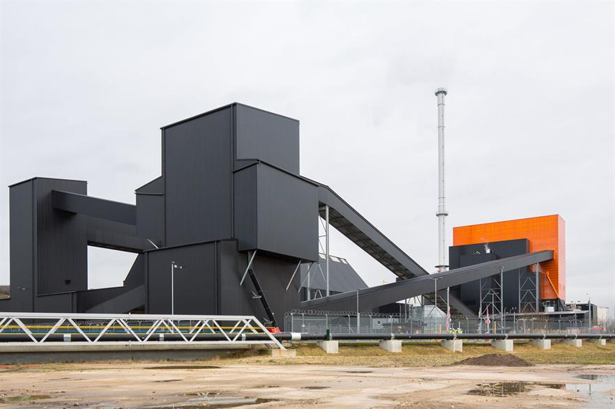 The battery system will be installed at E.on's Blackburn Meadows biomass plant near Sheffield (pic: BDP)