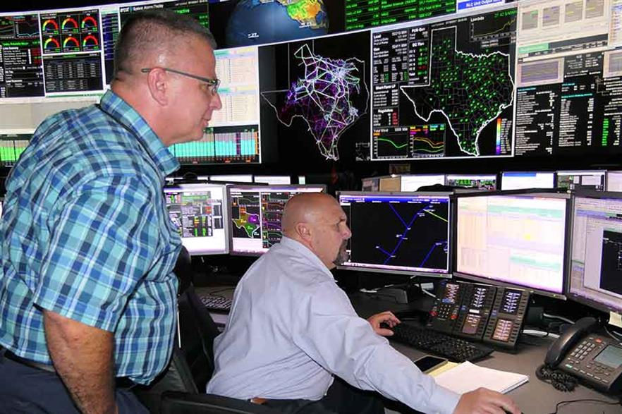 Reliability risk desk… Regional transmission operators like Ercot have adapted their systems to accomodate more wind (pic: Ercot)