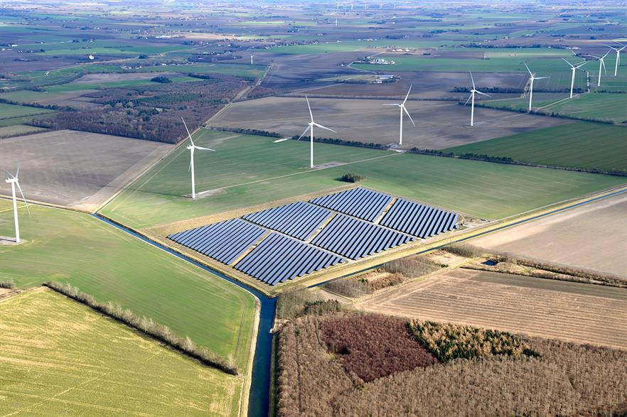 Wind, solar, and hybrid projects were successful in Denmark's latest joint technology tender (pic: European Energy)