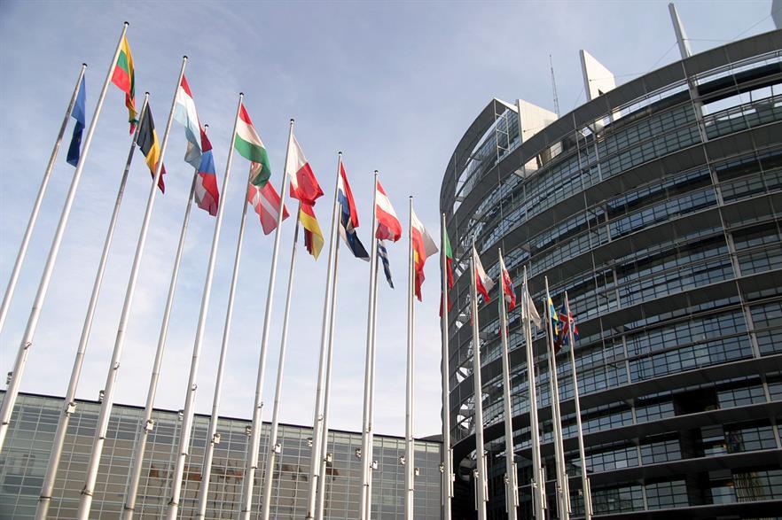 The European Parliament (pic: Rama)