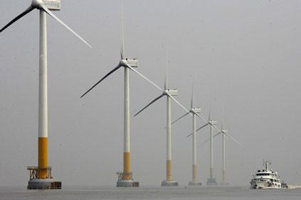 China's East Sea Bridge offshore project.