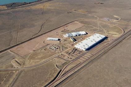 Vestas tower manufacturing plant at Pueblo, Colorado