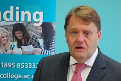 UK energy minister John Hayes