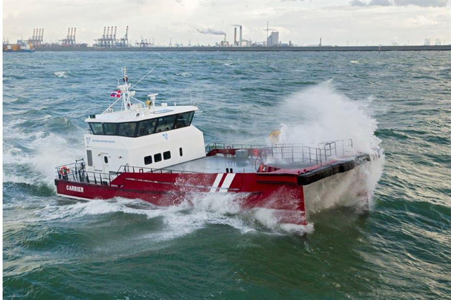 Northern Offshore Services has bought Damen Shipyards' Twin Axe vessel