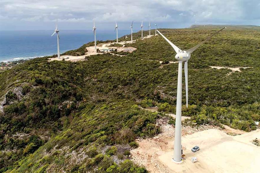 Complex terrain… Quadran's repowered 7.2MW La Montagne project on Guadaloupe