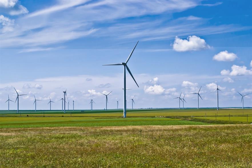 The Cernavodā-Stâlpu line will help integrate wind power from the Black Sea coast, such as the 600MW Fantanele-Cogealac (pic: Sandri Alexandra)