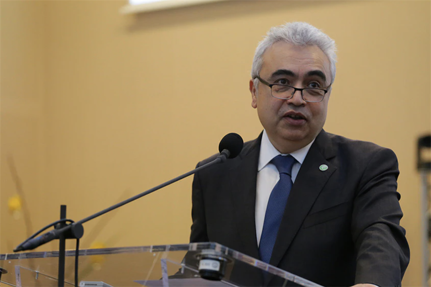 "2020's ""somewhat lower emissions come for all the wrong reasons and at huge economic and social costs"", said IEA executive. director Fatih Birol"