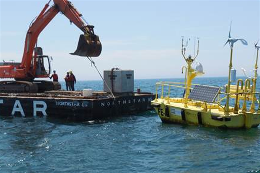 Fishermen's Energy has installed a floating lidar at the 25MW project site