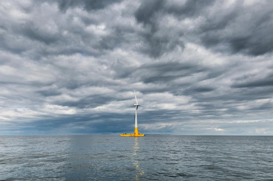 Just 73MW of floating wind capacity is currently online (pic credit: Ideol)