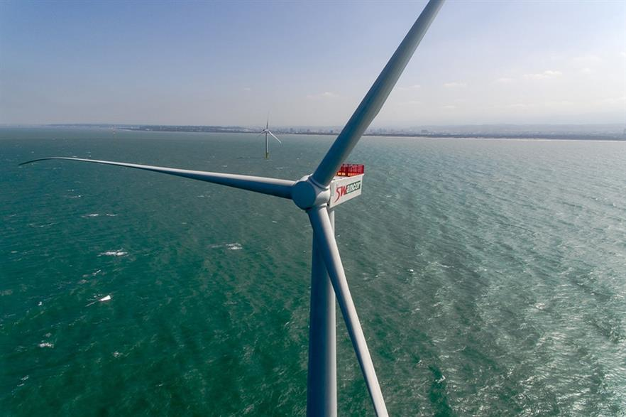 Taiwan's government wants 5.5GW of offshore wind by 2025, currently has 8MW (pic: Swancor)