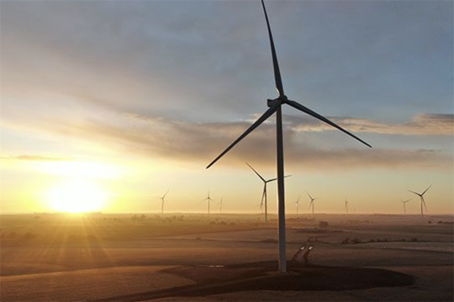 The largest onshore wind project to come online in the first quarter was Duke Energy's 's 355MW Frontier II  in Oklahoma