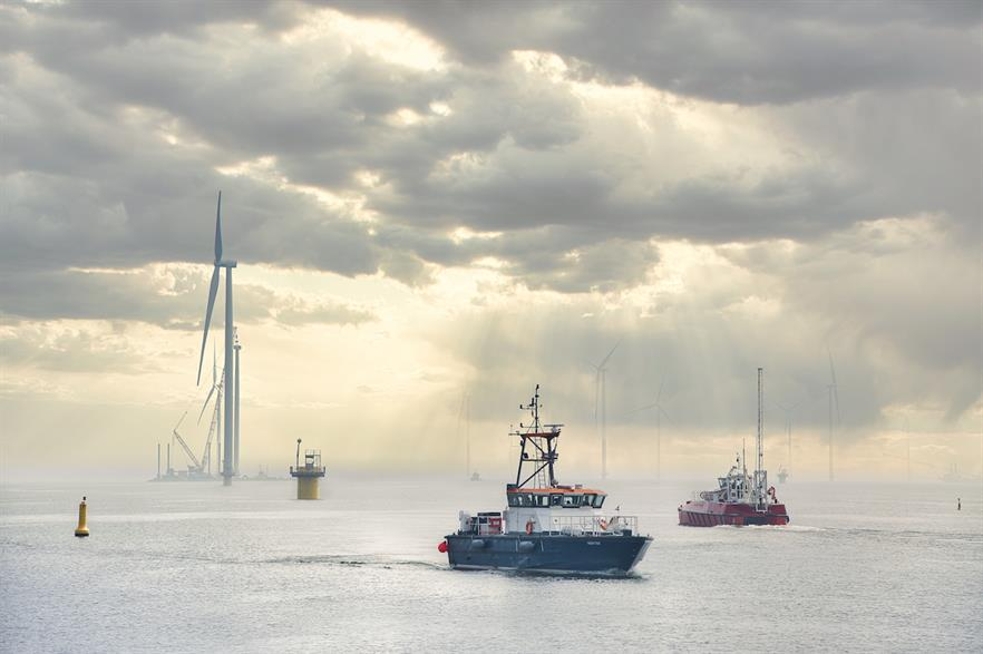 Construction at the Fryslân wind farm has been delayed by multiple challenges (pic credit: Yvonne van Driel)