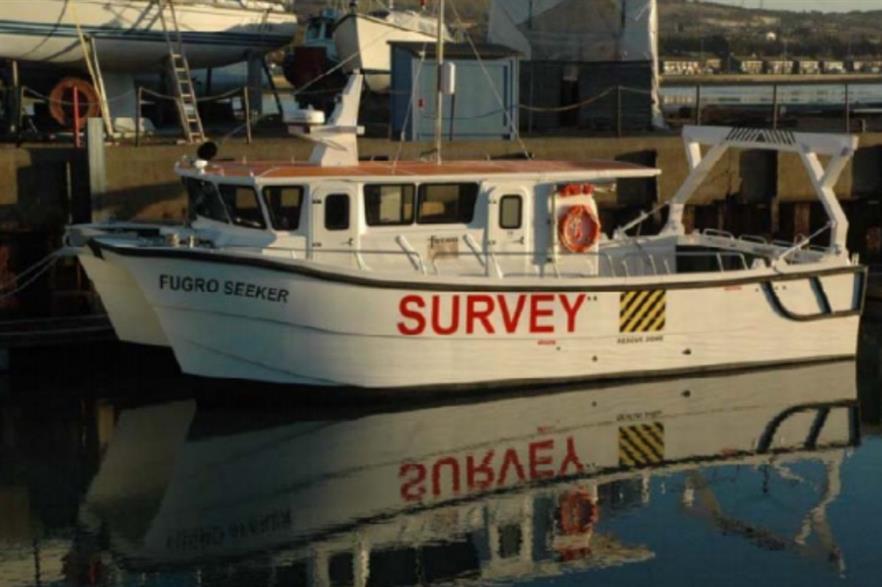 Fugro EMU's Seeker vessel will undertake the UXO survey at Beatrice