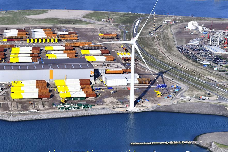 GE's 12MW Haliade-X prototype in Rotterdam is the largest operating offshore turbine in the world