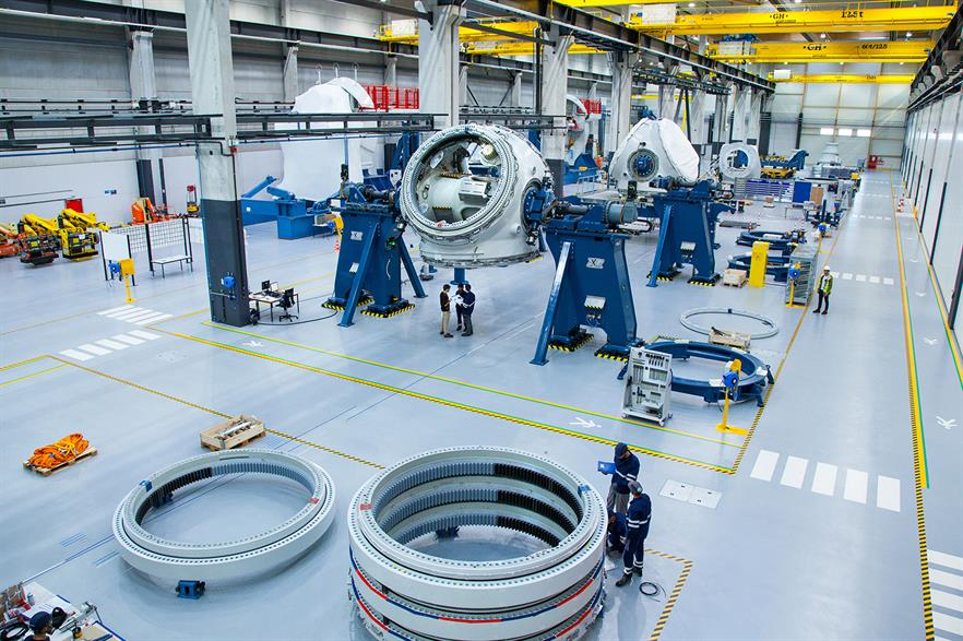 GE will invest approximately €46m to upgrade its St-Nazaire factory to produce the 12MW machine (pic: GE Renewable Energy / Eric Lamperti)