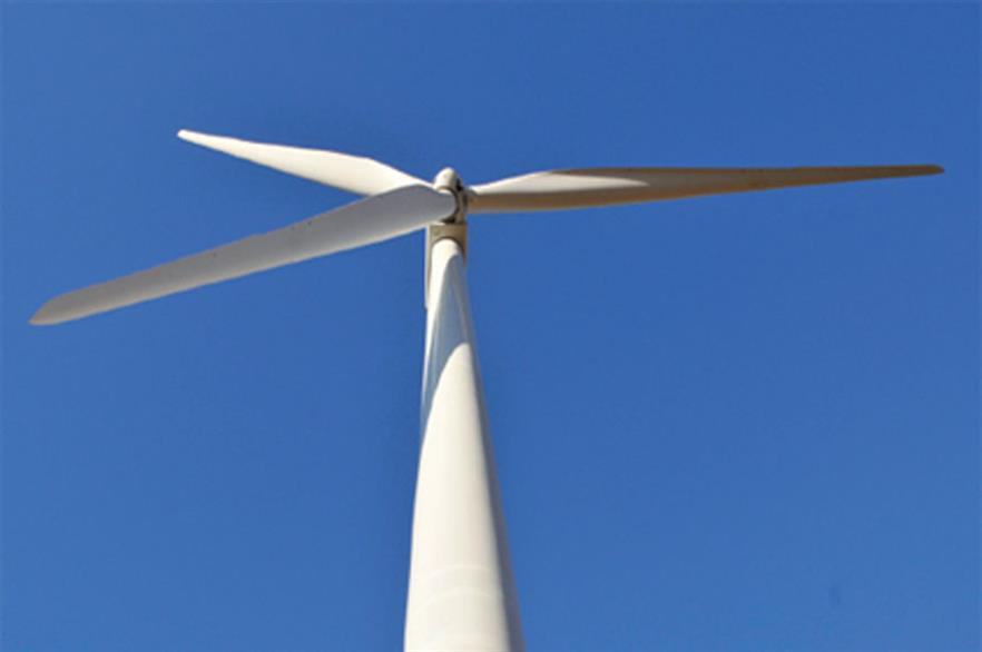 The GE 1.7-100 turbine is expected to be used on the site