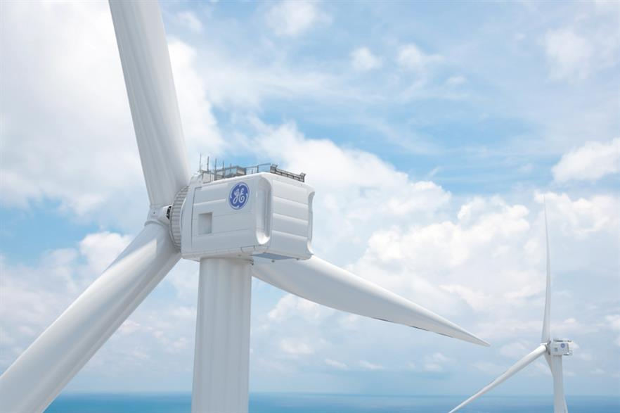 GE's 12MW Haliade-X turbine is currently the most powerful offshore turbine in development