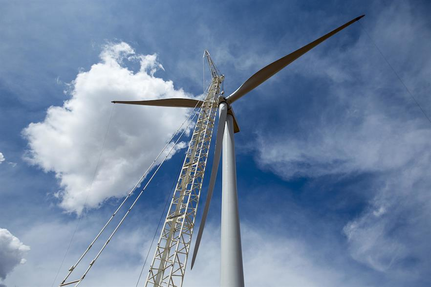 GE Renewable Energy reported the largest total of turbine orders in January 2021