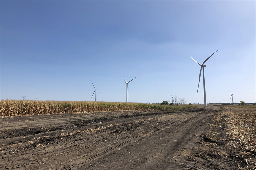 GE Renewable Energy accounted for 53% of newly installed US wind capacity last year