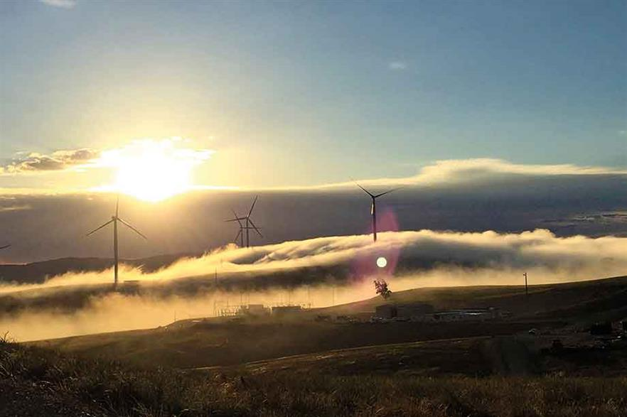 Pro-active… Victoria's target of 40% renewable-energy by 2025 has now been written into law. Its 1.32GW of wind capacity includes the 240MW Ararat wind farm (pic: GE Renewable Energy)