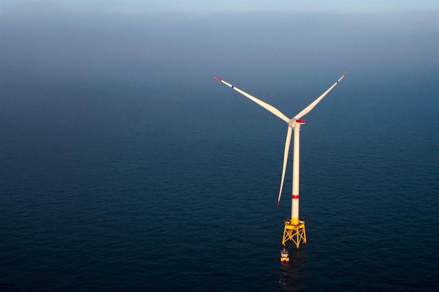 The 480MW Saint-Nazaire project is due to comprise 80 of GE's Haliade-150 6MW turbines (above)