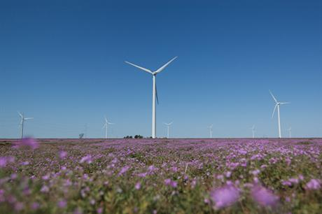 GE's 1.85MW turbine is being used at Panhandle I