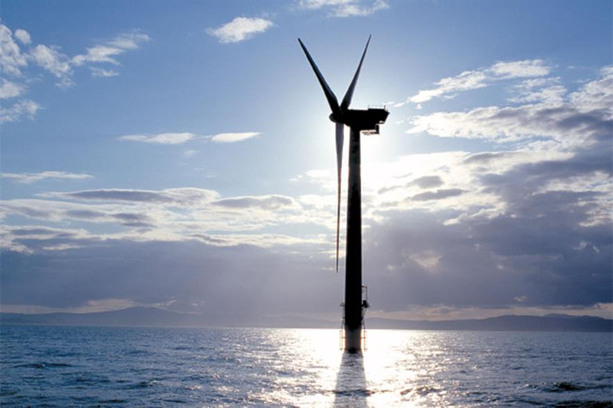 Ireland's only operating offshore project is in the Irish Sea off the country's east coast (pic: GE Renewable Energy)