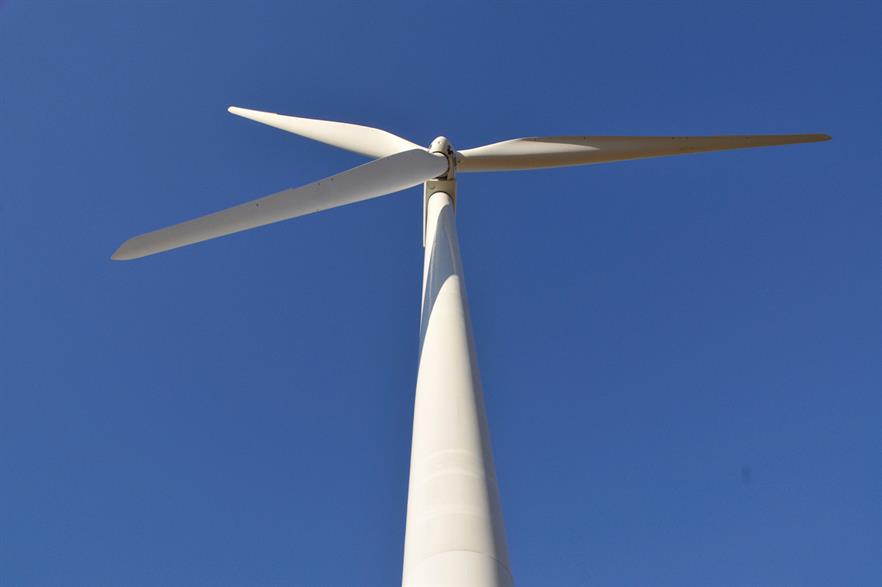 GE's 3.4MW turbines will be the tallest installed and part of a world-first pump storage solution